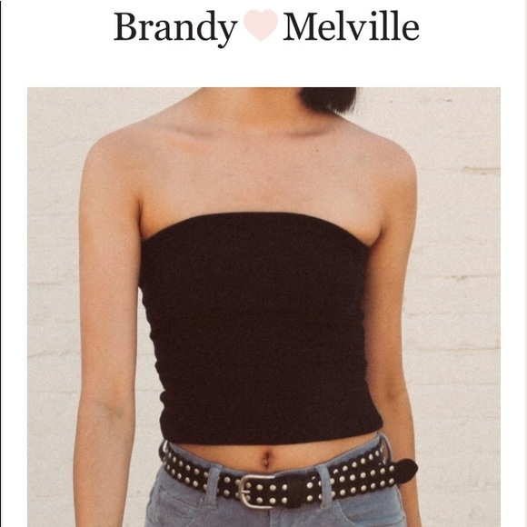 f39562de5e Brandy Melville Tops - Brandy Melville Jenny Tube Top Black Small XS